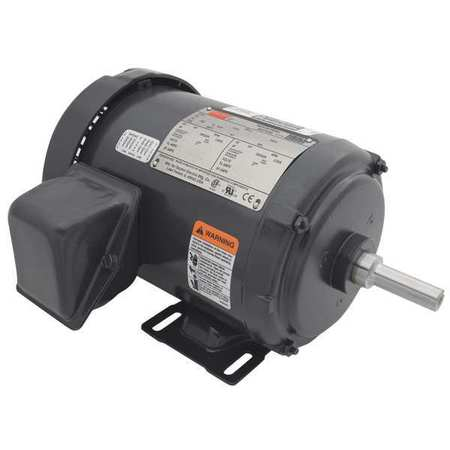 Mtr, 3 Ph, 1/2hp, 1155, 208-230/460, Eff 74.0