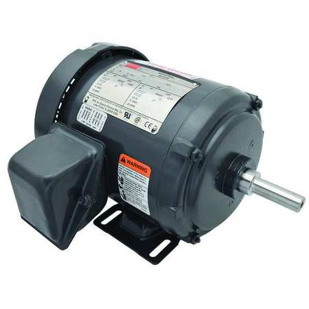 Mtr, 3 Ph, 3/4hp, 1750, 208-230/460, Eff 75.5
