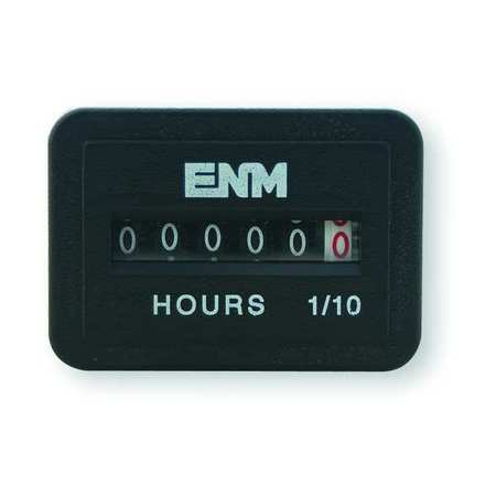 AC Hour Meter II, Electrical, Rectangular