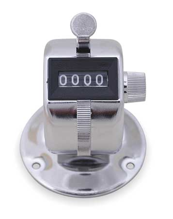 Counter, Mechanical, 4 Digit, Hand Tally