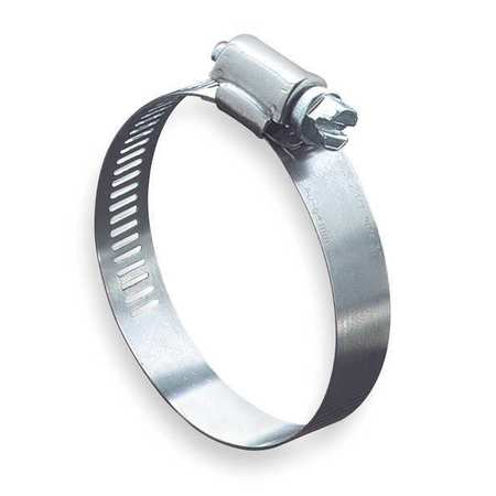 Hose Clamp, 1/2 to 1-1/4In, SAE 12, SS, PK10