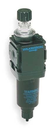 Air Line Lubricator, 1/4In, 57.5cfm, 250psi