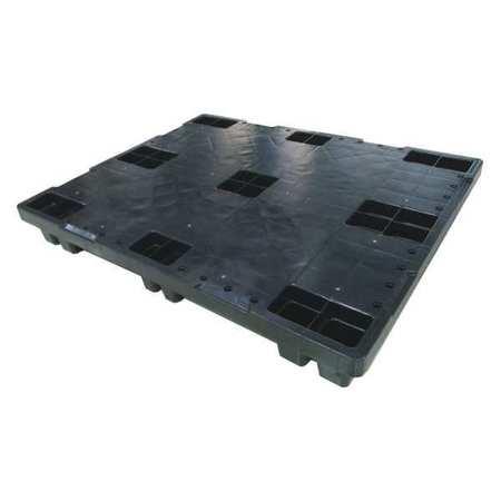 Pallet, 1, 200 lb., 48 In. L, 40 In. W, Black