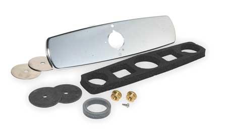 Trim Plate, Single Hole Faucet, Chrome