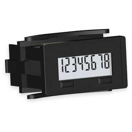 Electronic Counter, 8 Digits, LCD