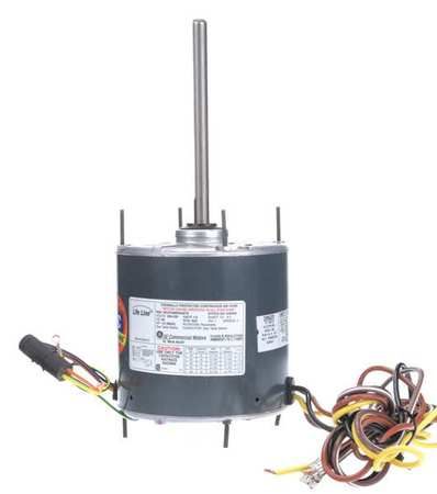 Condenser Fan Motor, 1/8 to 1/3 HP, 825rpm