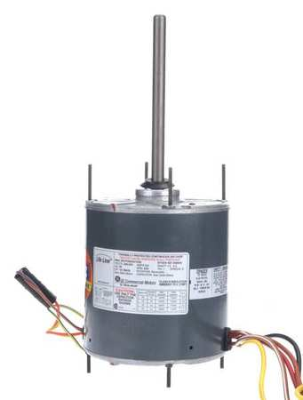 Condenser Fan Motor, 1/6 to 1/3 HP, 825rpm