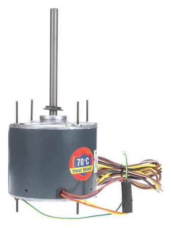 Condenser Fan Motor, 1/6 HP, 825 rpm, 60 Hz