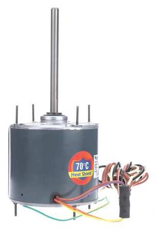 Condenser Fan Motor, 1/4 HP, 825 rpm, 60 Hz