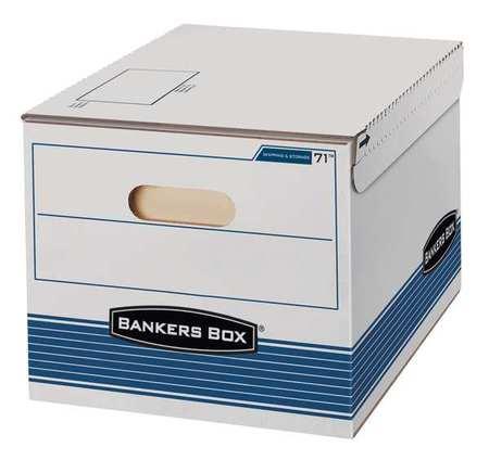 Banker Box, Ltr/Lgl, StringBtn, PK12