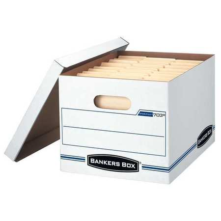 Banker Box, Ltr/Lgl, 450Lb, PK12