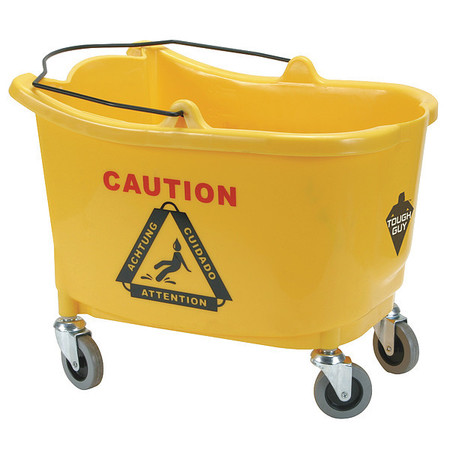 Mop Bucket, 8-3/4 gal., Yellow
