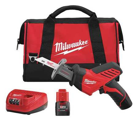 M12 Cordless Reciprocating Saw Kit,  1.5A/hr.
