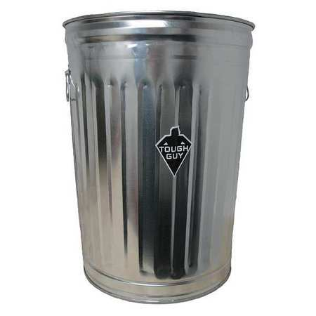 Galvanized Steel Trash Cans