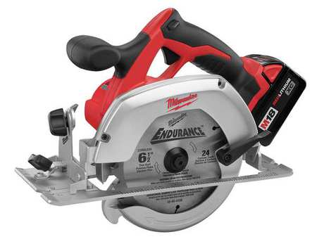 "M18 Cordless Circular Saw Kit,  18V,  6-1/2""L"