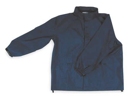 Rain Jacket with Hood, Navy, M