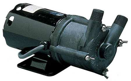 "1/25 HP PPS Magnetic Drive Pump 115V 1/2"" MPT"