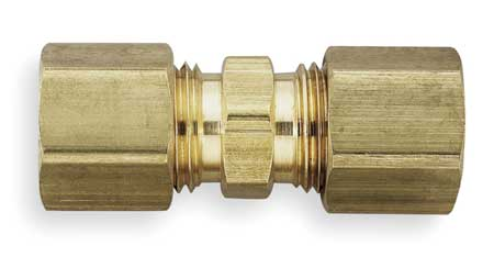 "5/8"" Compression Brass Union 10PK"