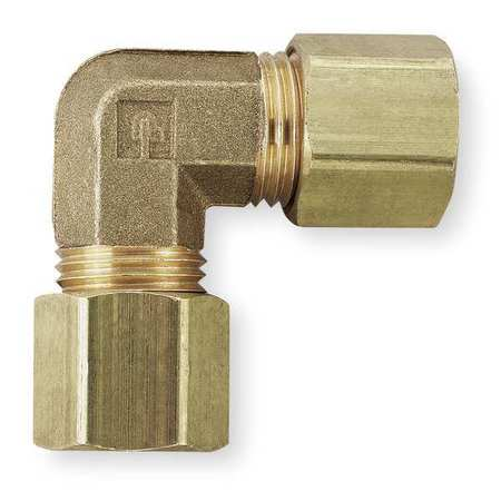 "1/2"" Compression Brass Union Elbow 10PK"