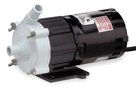 "1/50 HP Polypropylene Magnetic Drive Pump 115V 5/8"" OD"