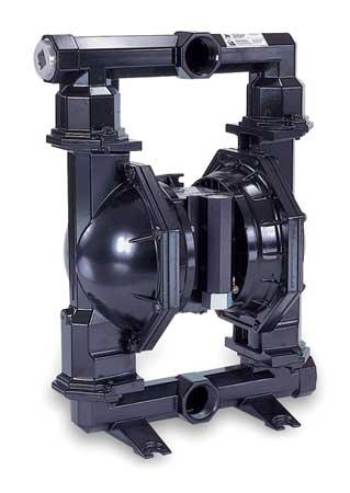 "1-1/2"" Cast Iron Air Double Diaphragm Pump 90 GPM 200F"