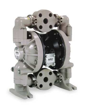 "2"" Polypropylene Air Double Diaphragm Pump 139 GPM 150F"