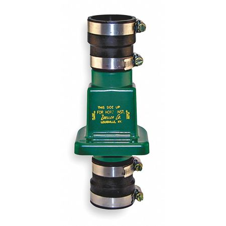 Full Flow Check Valve, PVC, 1-1/4 or 1-1/2