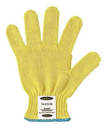 Cut Resistant Gloves, Yellow, M, PR