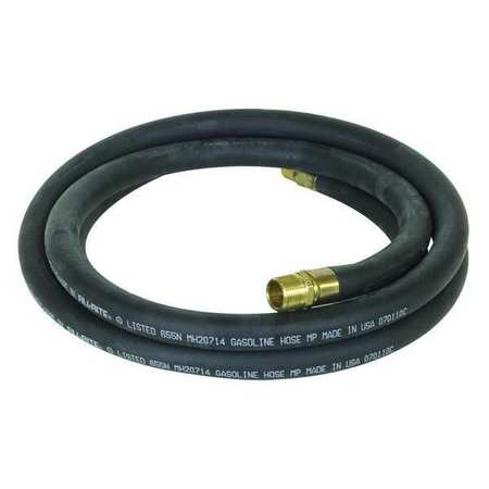 Fuel Hose, 3/4 In NPT Inlet, 12 ft.
