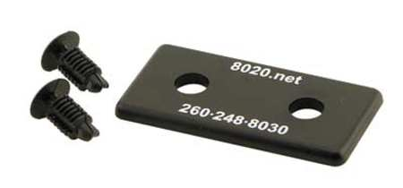 End Cap, For 40-8080, PK2