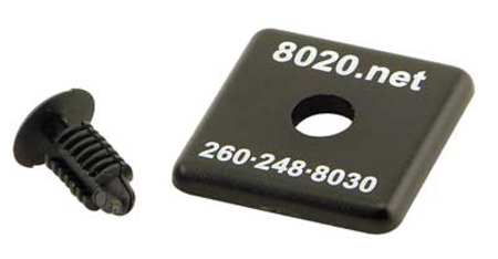 End Cap, For 40-4040/40-4040-LITE, PK2