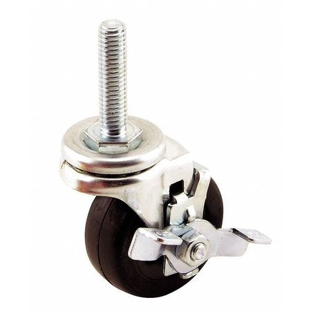 Swivel Caster W/Brake, For Extrusions