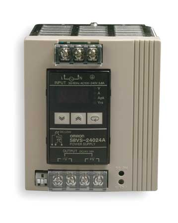 DC Power Supply, 24VDC, 10A, 50/60Hz