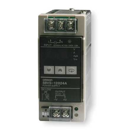 DC Power Supply, 24VDC, 5A, 50/60Hz