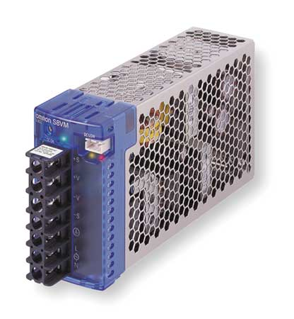 DC Power Supply, 24VDC, 6.5A, 50/60Hz