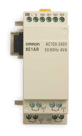 Input/Output Module, 100-240VAC,  4 inputs