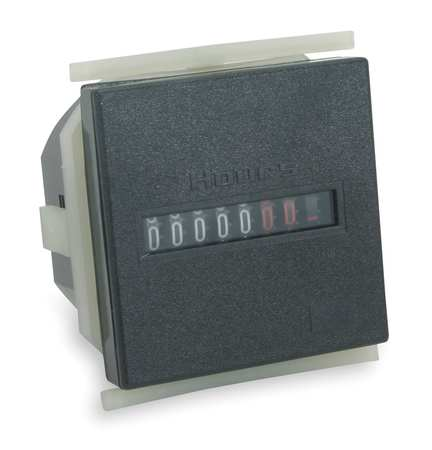 Hour Meter, Square, 8 Digit, 10-30VDC