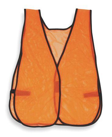 Safety Vest, Orange, XL-3XL