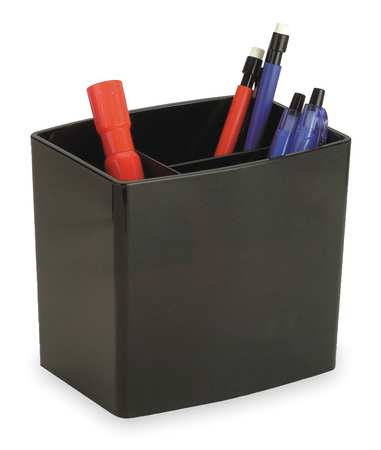 Pencil Cup, Large, Blk, Plastic