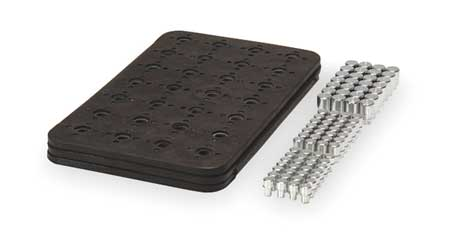 Magnetic Tool Storage Power Mat, 84 Pegs