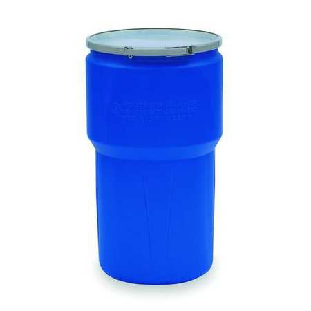 Transport Drum, Open Head, 14 gal., Blue