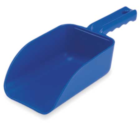 Small Hand Scoop, Poly, 32 Oz, Blue