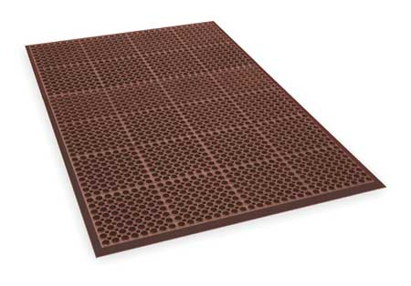 "Interlock Drainage Mat, Red, 3ft3""x4ft10"""