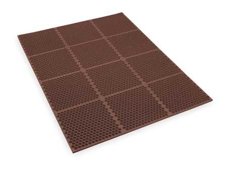Interlock Drainage Mat, Brown, 3 ft.x4 ft.