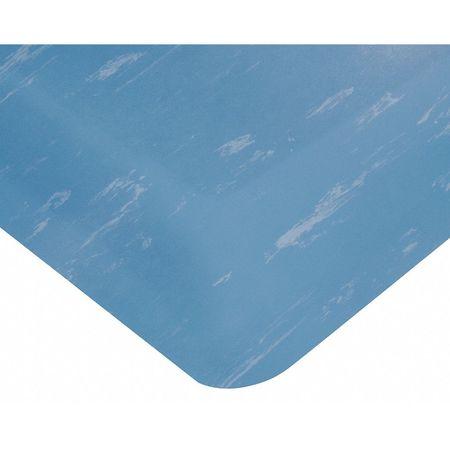 Antifatigue Mat, Blue, 3ft. x 5ft.