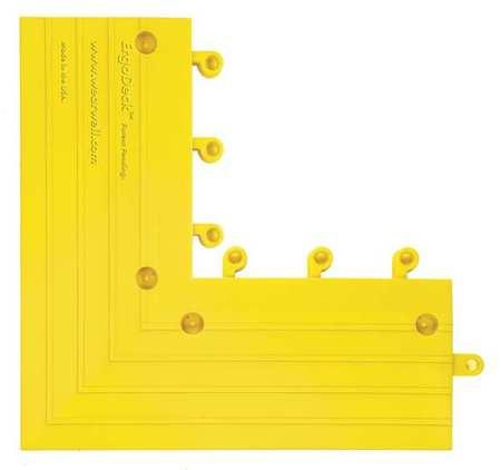Outside Corner, Yellow, 6 in. x 15 in., PK4