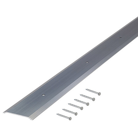 Saddle Threshold, Smooth Top, 3 ft, Alum
