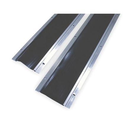 Double Door Weatherstrip, 8 Ft L
