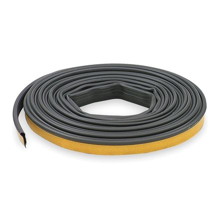 Gasketing, 20 ft., Black, Silicone