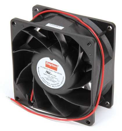 "3-1/8"" Square Axial Fan,  12VDC"